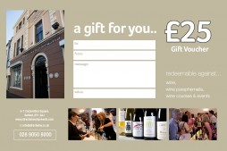 DWS £25 Gift Vouchers