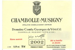 Vogue Chambolle Musigny