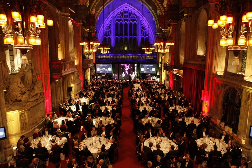 The IWSC Banquet at The Guild Hall, London